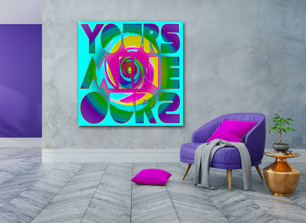 Ode to Robert Indiana: Yours, Mine and Ours Version 1 + 2