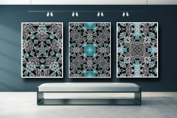 The Monarchy Turquoise Versions 1-2-3