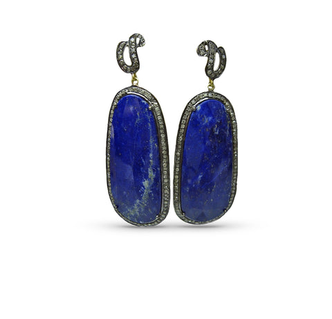 St. Jean Earrings Lapis
