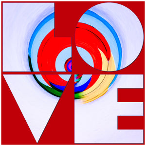 Ode to Robert Indiana: Love 2019 Version 3