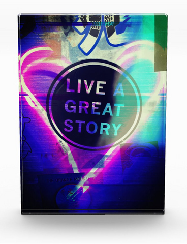 """Live a Great Story""  Photo Block"
