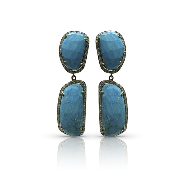 St. Jean Earrings Turquoise
