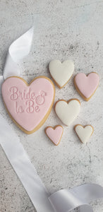 Bride to Be Cookie Set
