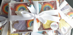 Rainbow Cookie Gift Set