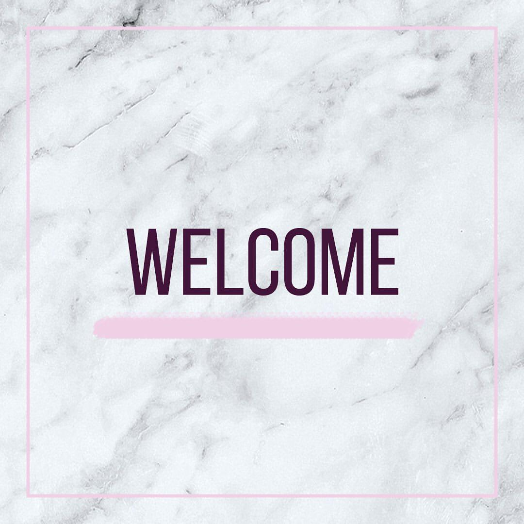 A warm welcome to our new guests!