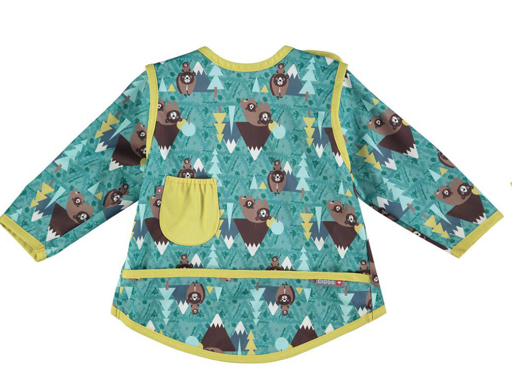 Close Pop-in Bib Stage 3- Great Plains Collection - Bear