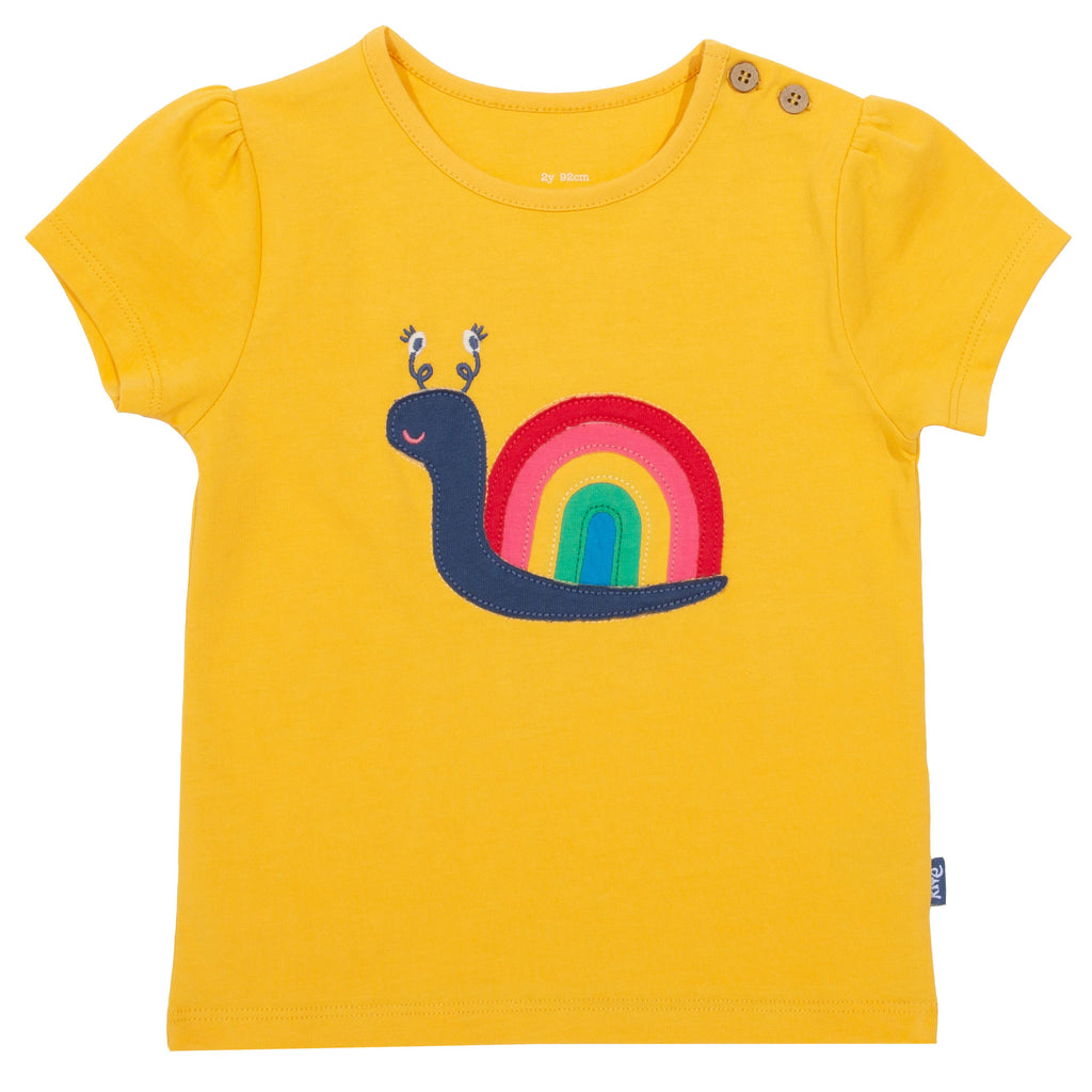 Kite Rainbow Snail T-shirt