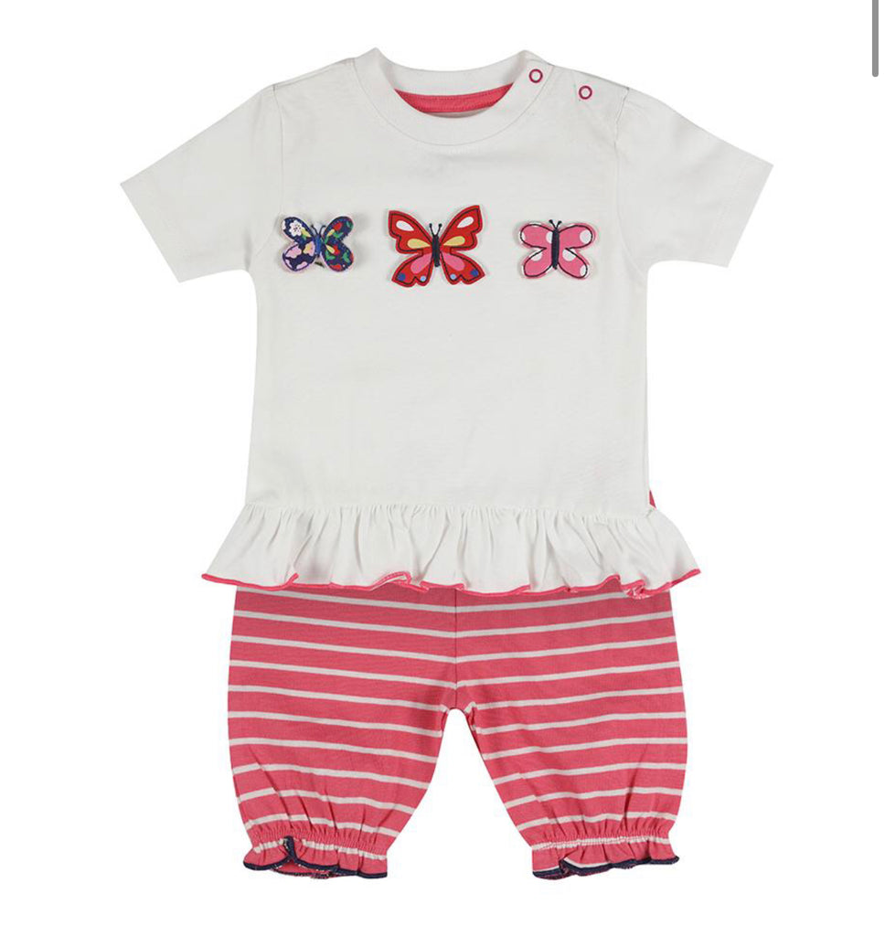 Lilly & Sid 3D Butterfly Short Set