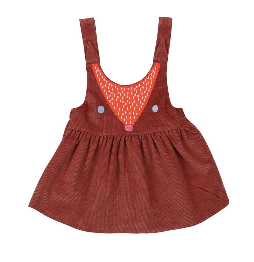 Lilly & Sid Reversible Fox Pini Dress