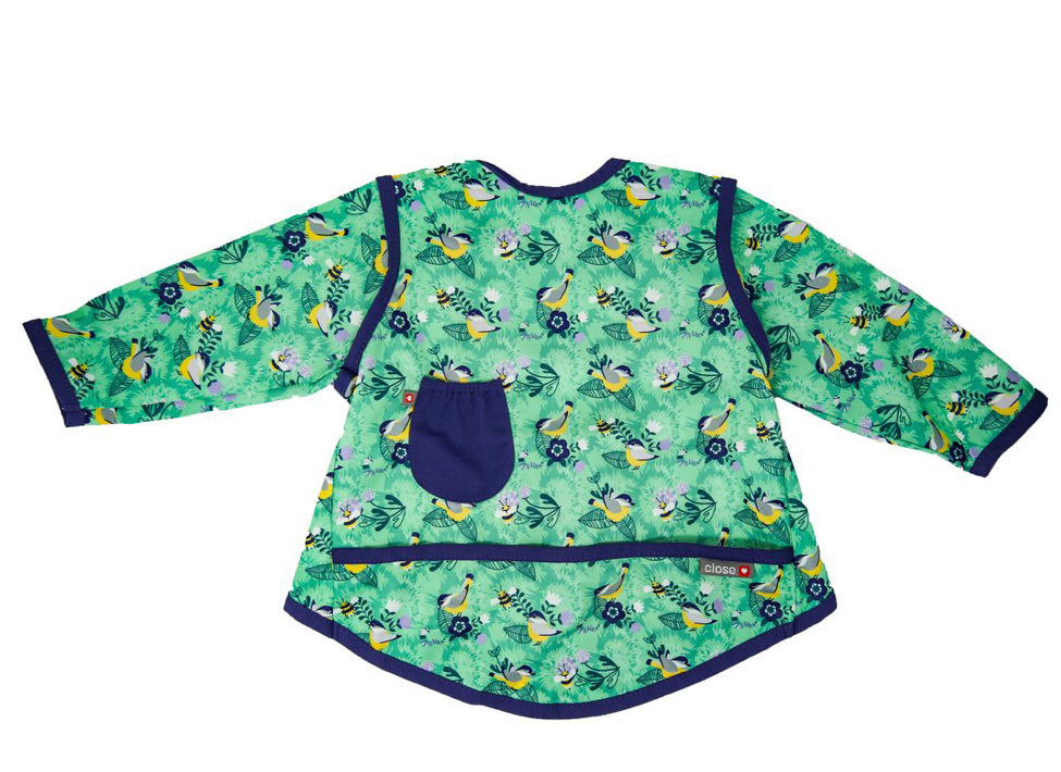 Close Pop-in Bib Stage 3- Endangered Garden Collection - Round the Garden