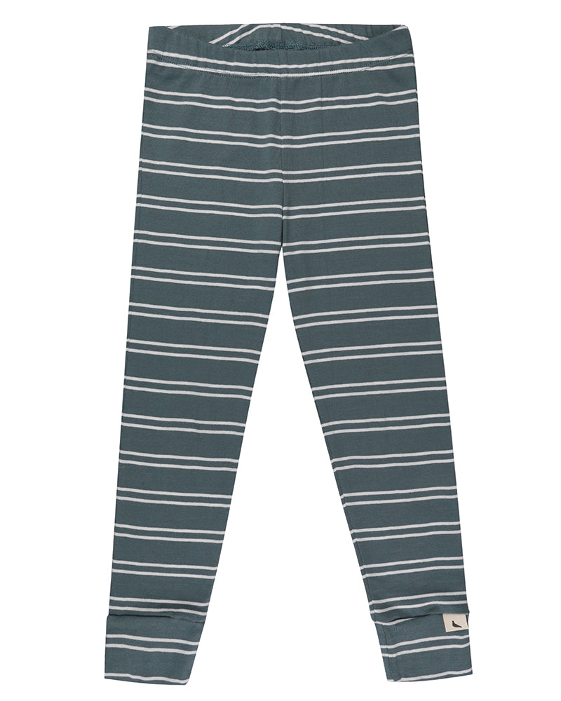 Turtledove London Steel stripe leggings