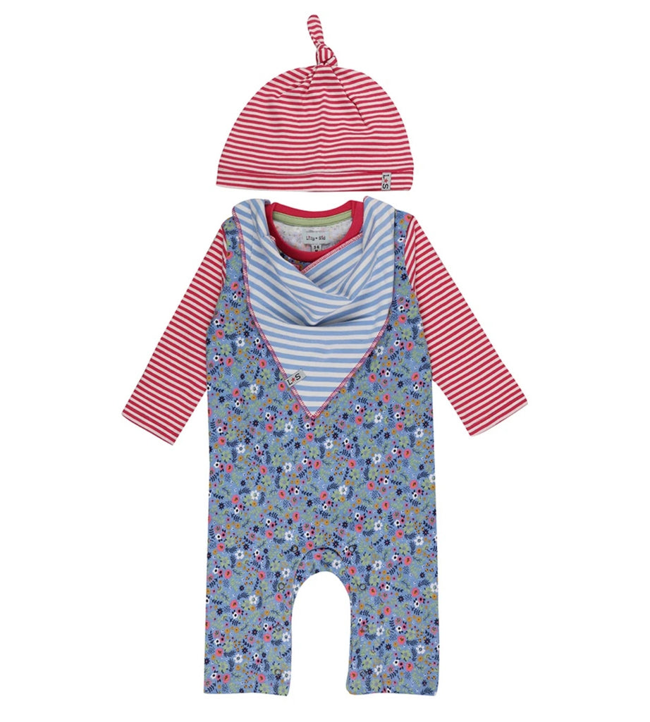 Lilly & Sid Playsuit gift set