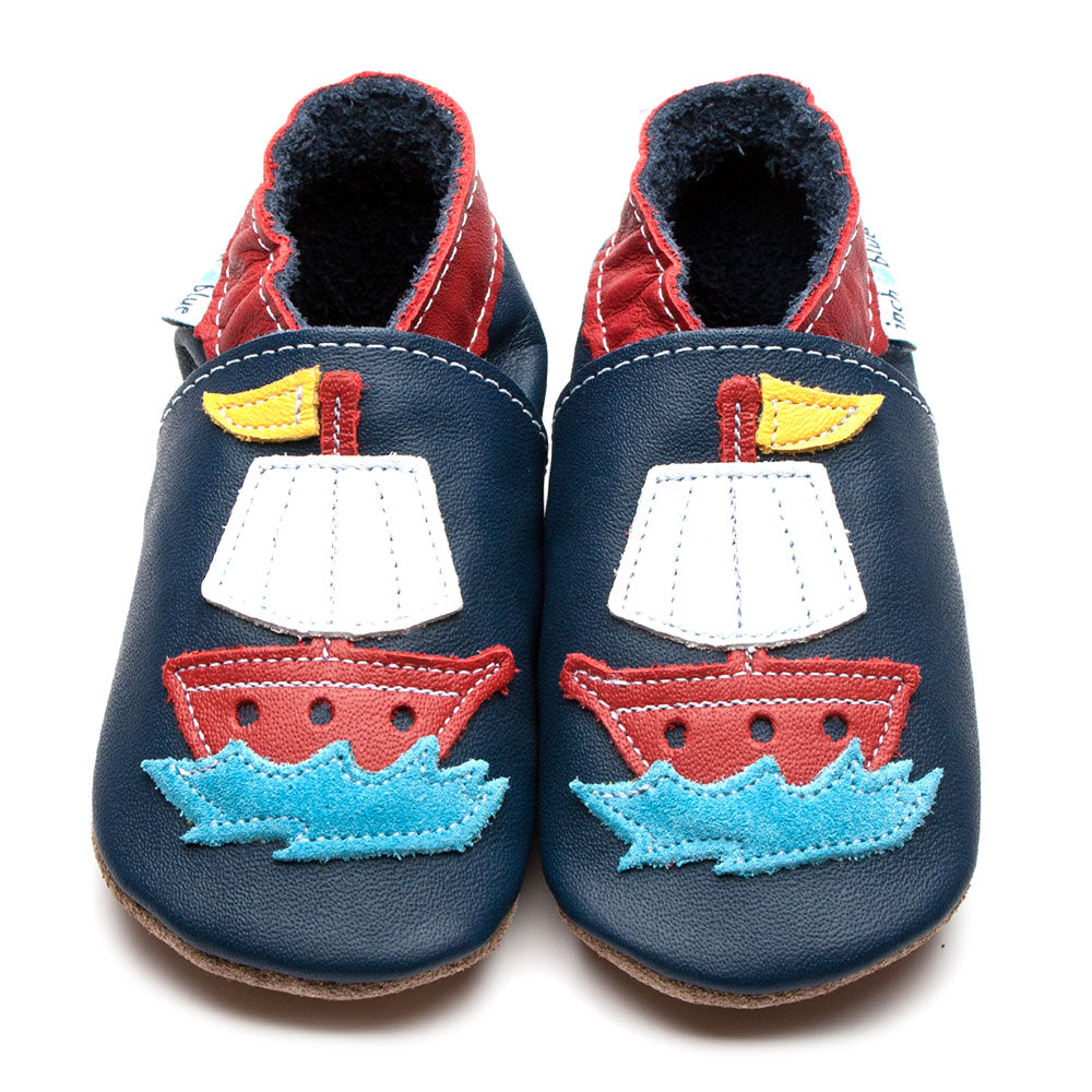 Pirate Ship Navy Shoes