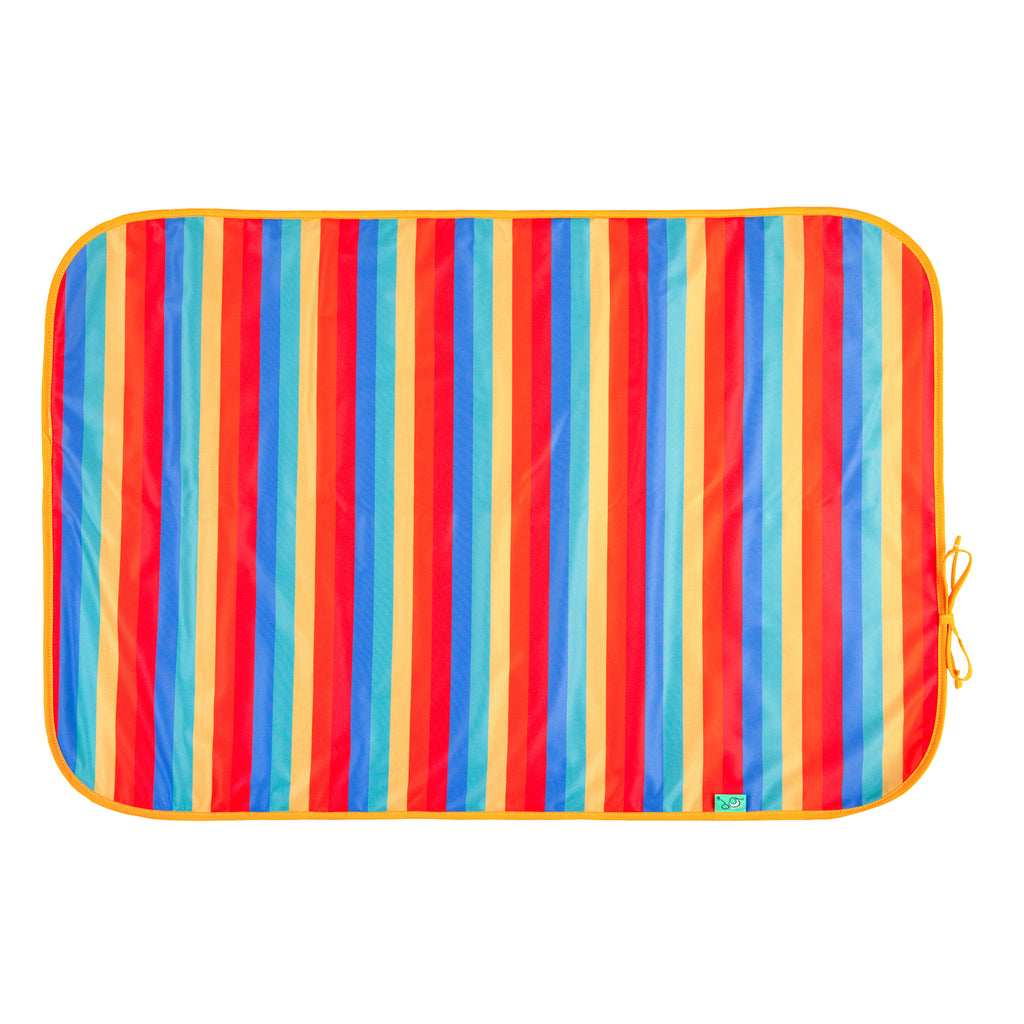 TotsBots Happy Mat Rainbow Stripe Change Mat