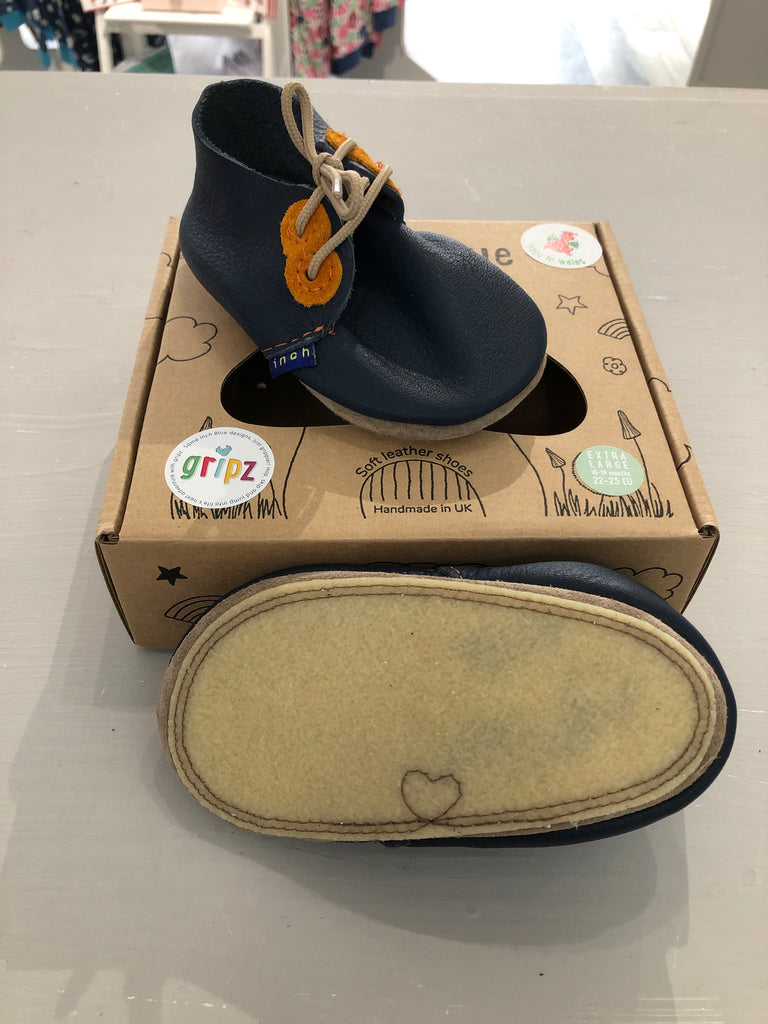 Derby Navy/Tangerine Shoes