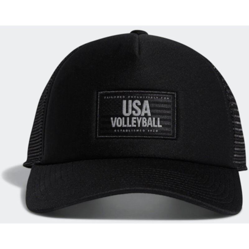 USA Volleyball Adidas Tailored Jack Trucker Hat