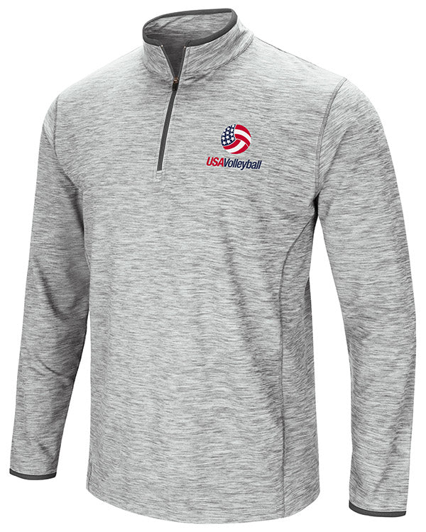 USA Volleyball Sprint Long Sleeve Quarter Zip Windshirt