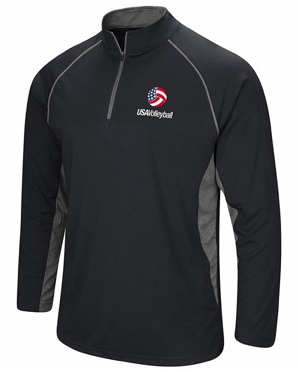 USA Volleyball Glide Long Sleeve Quarter Zip Windshirt