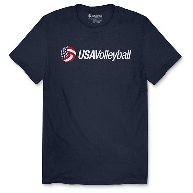 USA Volleyball Secondary Logo T-Shirt