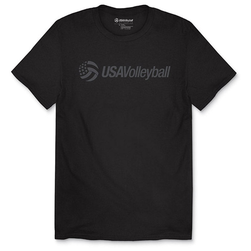USA Volleyball Tonal Secondary Logo T-Shirt