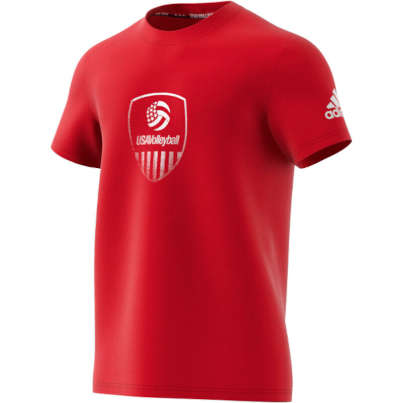 USA Volleyball Adidas Aeroready Short Sleeve T-Shirt