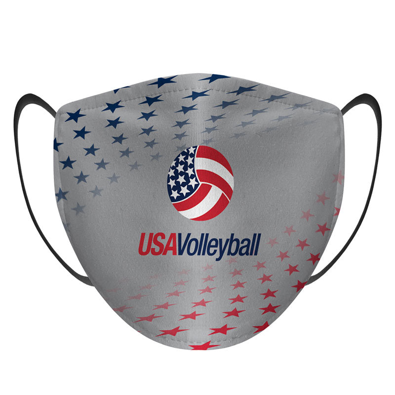 USA Volleyball Stars Face Mask