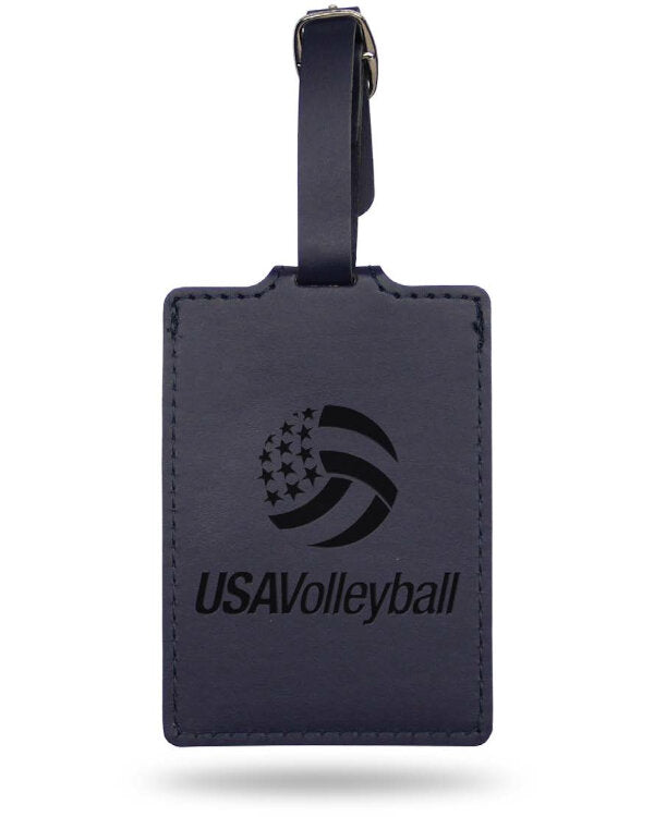 USA Volleyball Luggage Tag