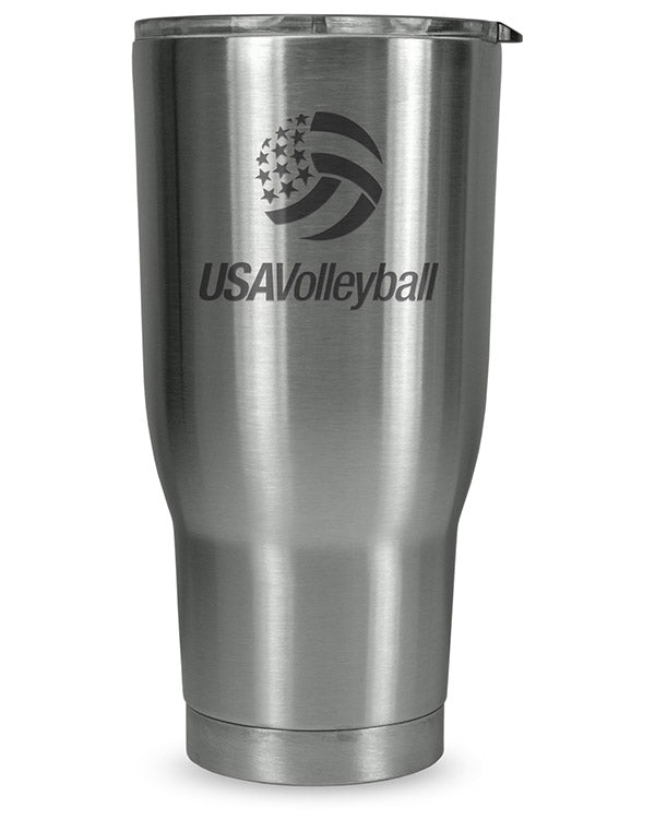USA Volleyball 30Oz Stainless Steel Tumbler