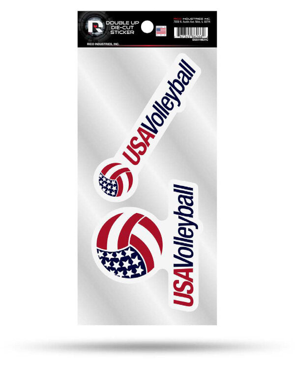 USA Volleyball Decal Set