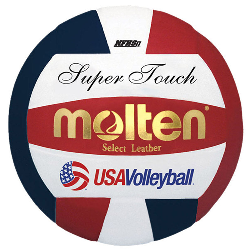 USA Volleyball Molten Official Super Touch Official Volleyball