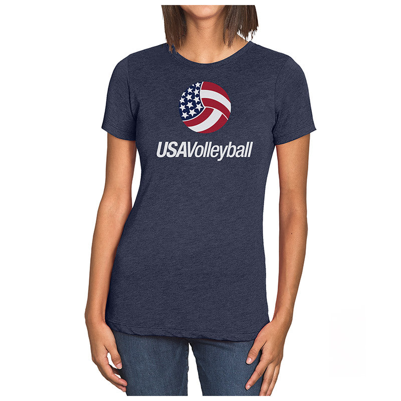USA Volleyball Primary Logo Women's T-Shirt