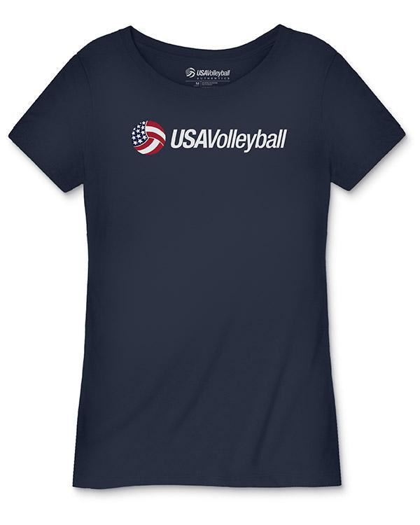 USA Volleyball Secondary Logo Women's T-Shirt