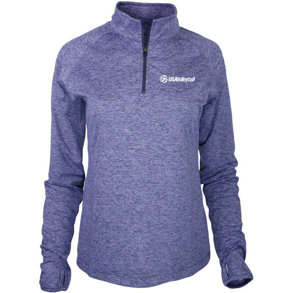 USA Volleyball Swerve Quarter Zip