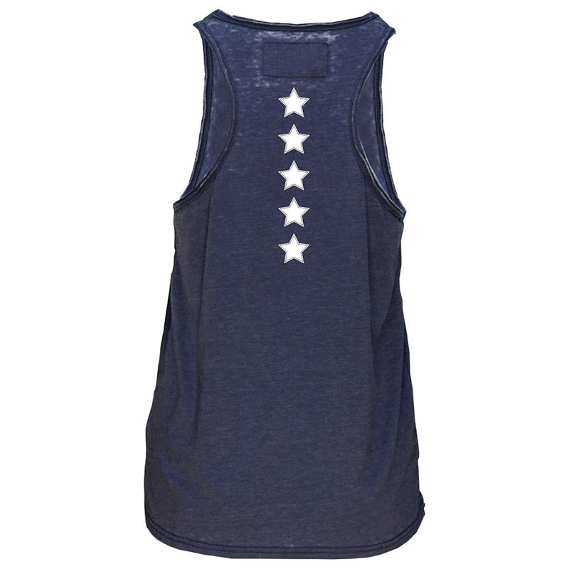 USA Volleyball Burnout Foxy Tank Top