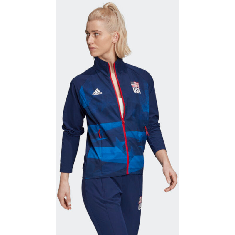 USA Volleyball Warmup Jacket