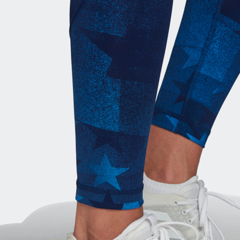 USA Volleyball Adidas Performance Long Tights