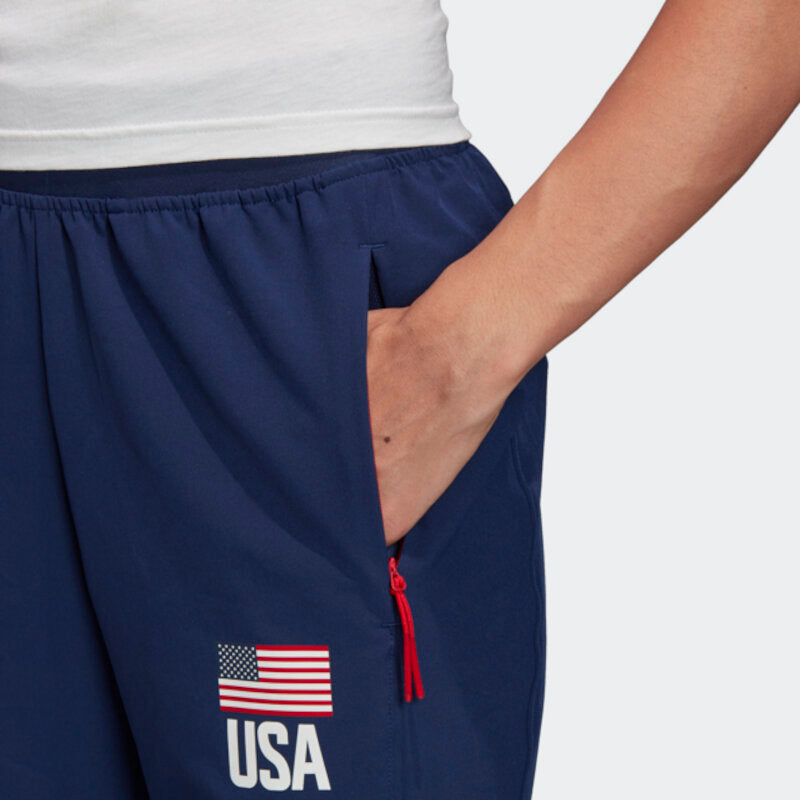 USA Volleyball Adidas Lightweight Track Pants