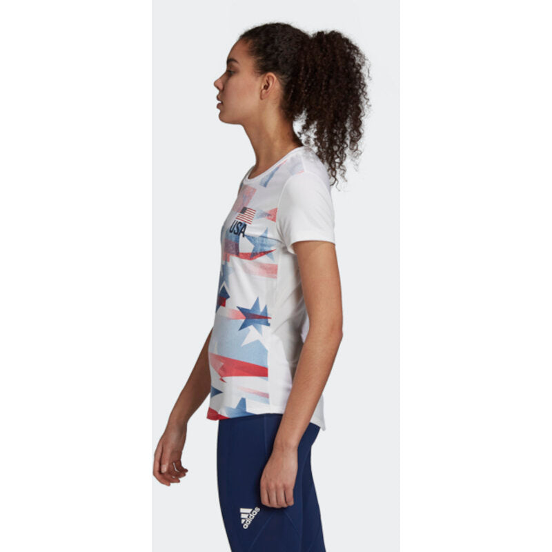 USA Volleyball Adidas Primeblue Replica T-Shirt