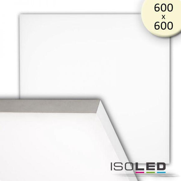 LED PANEL FRAMELESS, 600 DIFFUS, 50W, WARMWEISS, 1-10V DIMMBAR