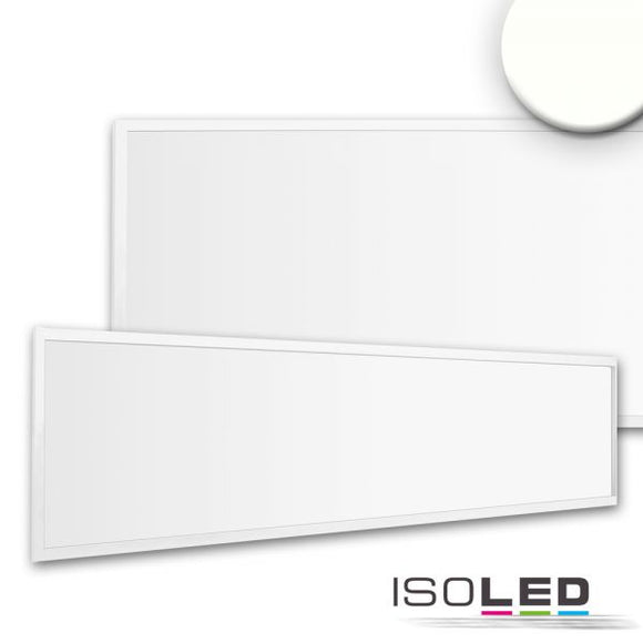 LED PANEL BUSINESS LINE 1200 UGR<19 2H, 36W, RAHMEN WEISS RAL 9016, NEUTRALWEISS, PUSH/DALI DIMMBAR