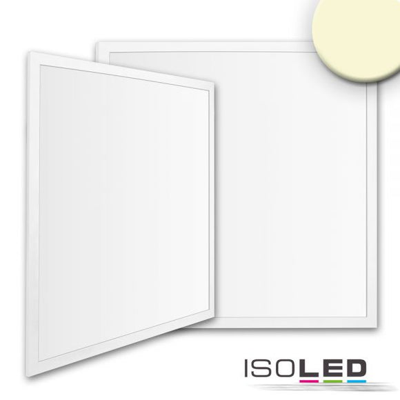 LED PANEL BUSINESS LINE 600 UGR<19 2H, 36W, RAHMEN WEISS RAL 9016, WARMWEISS, KNX DIMMBAR