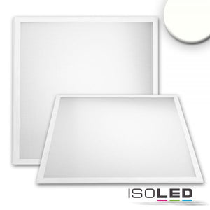 LED PANEL PROFESSIONAL LINE 625 UGR<19 8H, 36W, RAHMEN WEISS RAL 9016, NEUTRALWEISS, PUSH/DALI DIMMBAR