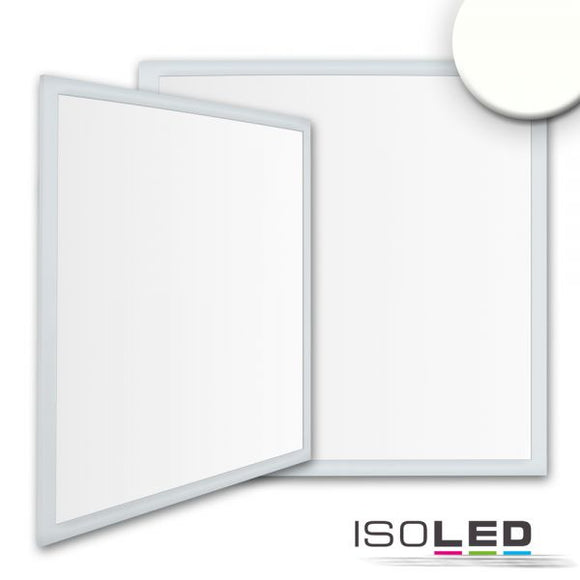 LED PANEL BUSINESS LINE 625 UGR<19 2H, 36W, RAHMEN SILBER, NEUTRALWEISS, PUSH ODER DALI DIMMBAR