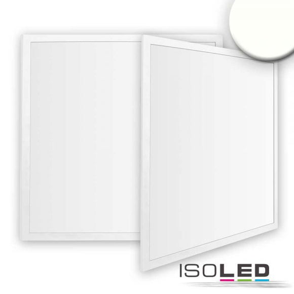 LED PANEL ECO LINE 625 DIFFUS, 40W, RAHMEN WEISS, NEUTRALWEISS