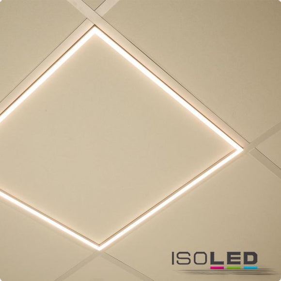LED PANEL FRAME 620, 40W, WARMWEISS, KNX DIMMBAR