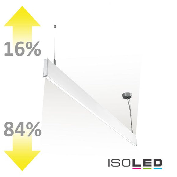 LED HÄNGELEUCHTE LINEAR UP+DOWN 600, 25W, LINEAR- U. 90° VERBINDBAR, WEISS, NEUTRALWEISS