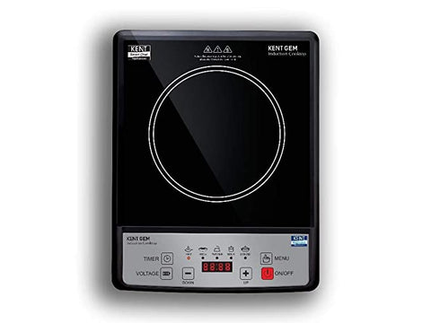 Kent Gem 1500 WATT Induction Cooktop With Push Button (1 Year Warranty ) - My Dream Kitchens