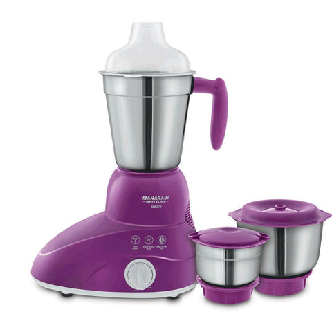 Maharaja Whiteline Stellar Mixer Grinder 500 W ,2 Year Warranty On Motor - My Dream Kitchens