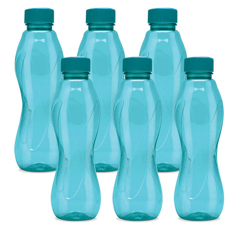 Milton Fridge Pet Water Bottle Set Of 6 Pieces, 1000 ml, Color May Vary - My Dream Kitchens
