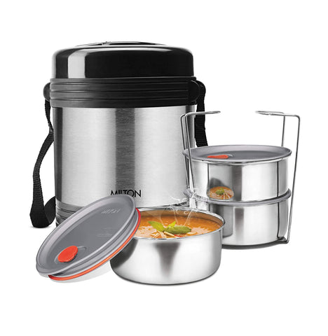 Milton Legend Deluxe 3 Thermosteel Tiffin / Lunch Box, (3 Containers) - My Dream Kitchens
